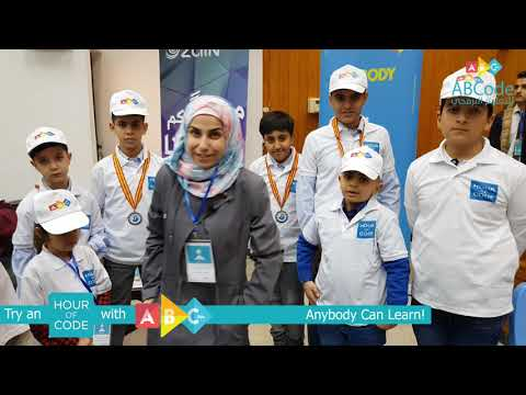 Hour Of Code event in Iraq 🇮🇶 2019