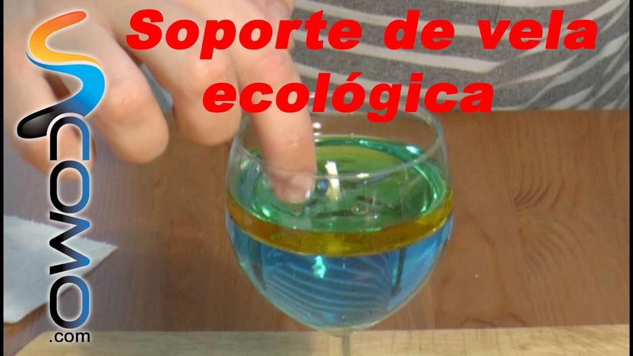 Vela ecologica reaccion quimica