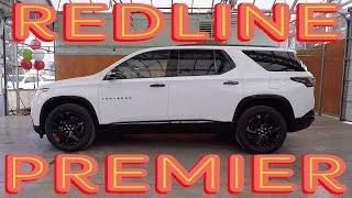 2018 Chevrolet Traverse Premier Redline - Exterior/Interior Walkaround