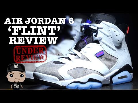 Air Jordan 6 Flint Retro Sneaker Honest Detailed Review #Sneakerhead #Jumpman