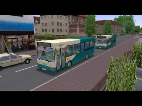 Omsi bus 遊車河 (044) Arriva Dennis Dart Pointer in Sutton Coldfield Map Birmingham 伯明翰