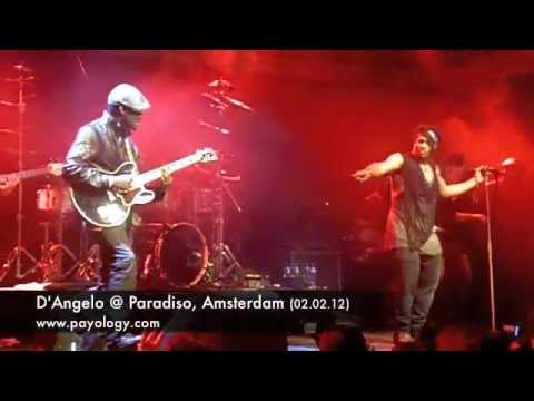 D'Angelo @ Paradiso, Amsterdam 02.02.12 (show compilation)