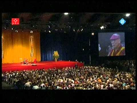 Dalai lama 5 juni 2009 RAI Amsterdam (Full version)