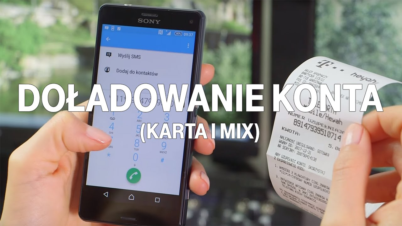 Doladowanie Konta W T Mobile Na Karte I Mix T Mobile Trendy Youtube