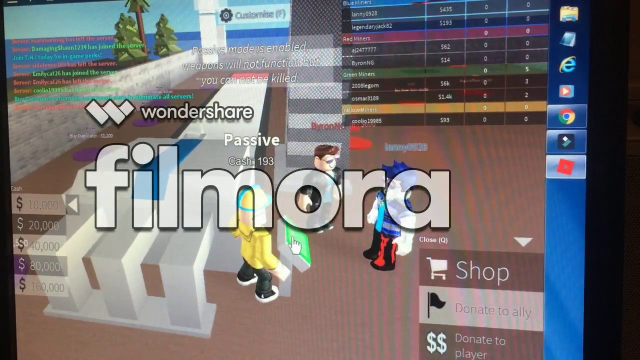 How To Become Rich On Roblox 2 Player Combat Mining Tycoon Roblox Two Player Combat Mining Tycoon Building An Empire Youtube