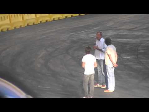 Top Gear Festival Durban 2013- Jeremy Clarkson say goodbye