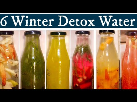 6-winter-detox-water-for-weight-loss-|-infused-cleansing-water-to-lose-belly-fat-|-cure-indigestion