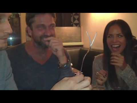 gerard butler funny reaction for my mind bending stunt that