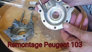 Remontage moteur Peugeot 103 / Étape 1