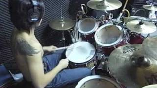 Gould Wu - Avenged Sevenfold - A Little Piece of Heaven (drum cover)