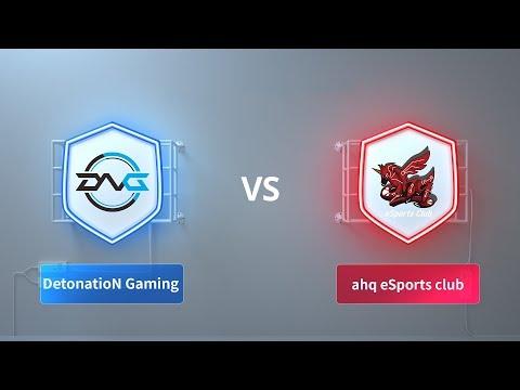 DetonatioN Gaming vs ahq eSports club - 2018 CRL Asia Week 4 Day 2