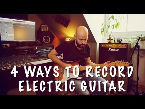 4 Ways to Record Electric Guitar | LoudBox Music - Zed Marty