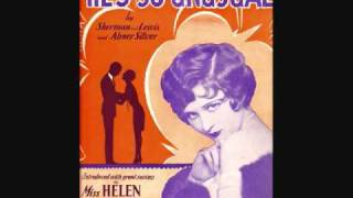 Download Helen Kane - He's So Unusual (1929) MP3 song and Music Video