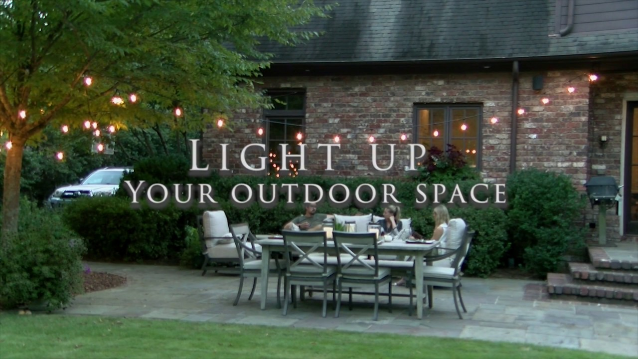 How to Hang Outdoor String Lights: A Step-by-Step Guide