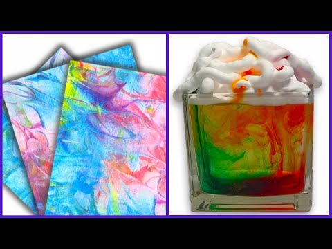 DIY Shaving Cream Crafts and Experiments for Kids