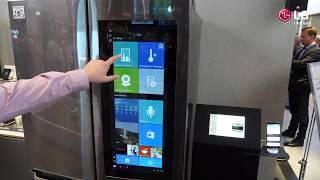 IFA 2017: LG Side-by-Side-Kühlschränke mit webOS und Windows 10