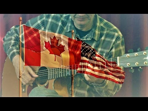 Canadian and American National Anthems - YouTube