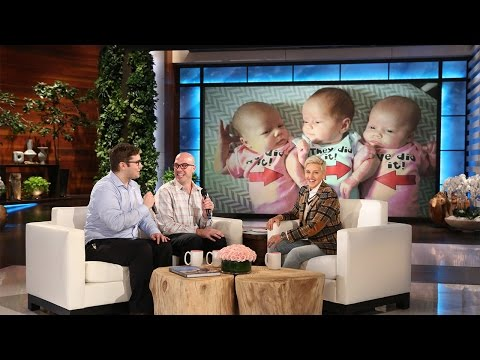 Ellen's Surprise for Wonderful New Dads