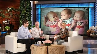 Ellen's Surprise for Wonderful New Dads