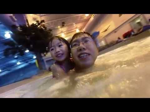 Pool Day - Houston Leisure Center with the Nguyen's