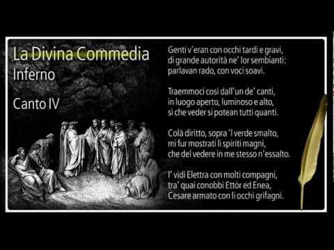 La Divina Commedia - Inferno - Canto IV