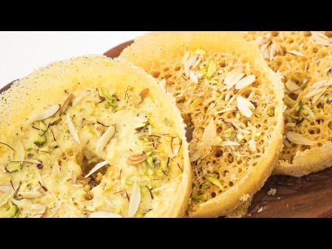 Ghevar Recipe | Perfect Halwai Style Ghewar Recipe | Rajasthani Mithai / Indian Sweets