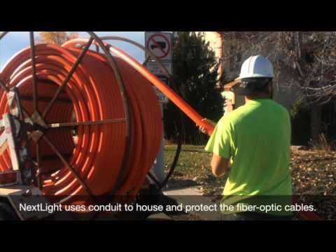 NextLight™ Network Construction: Installing Conduit, Vaults, Pedestals, And Flower Pots
