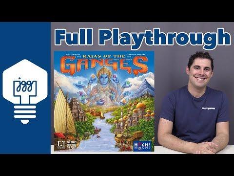 Rajas of the Ganges Full Playthrough - JonGetsGames