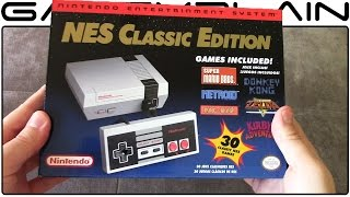 NES Classic Edition UNBOXING
