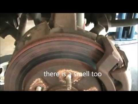 overheated brakes, ford expedition 4 wheel disc brakes