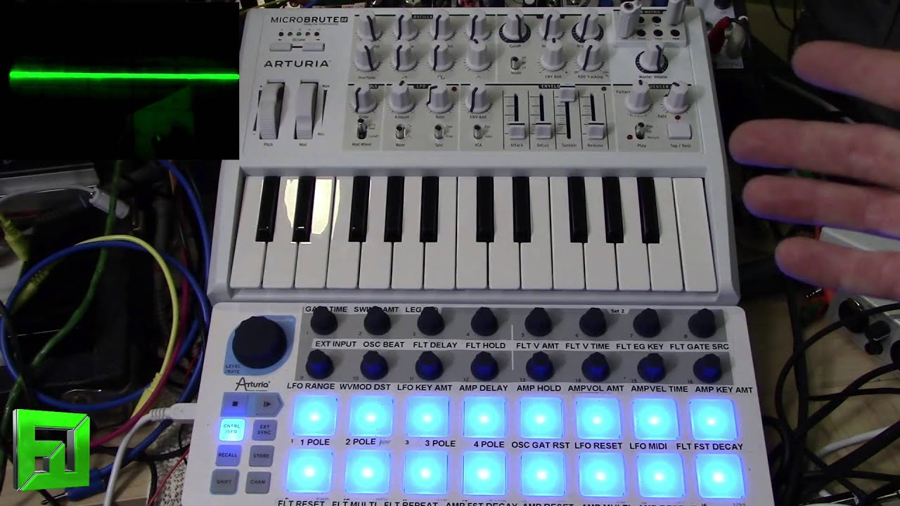 ARTURIA MICROBRUTE SE KEYBOARD CONNECTION WINDOWS 10 DRIVER