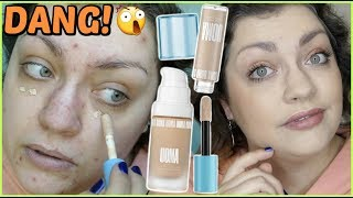 UOMA Say What?! Foundation & Stay Woke Concealer   WEEKLY WEAR (Oily Skin Review) thumbnail