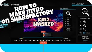 HOW TO MAKE INTRO'S ON SHAREFACTORY WITHOUT USB OR PC *NEW 2018*