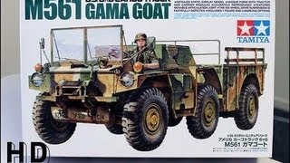 Unboxing the New Tamiya M561 Gama Goat (1:35 scale)