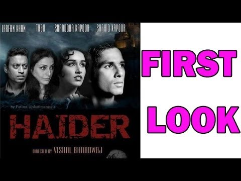 Haider Movie - Shahid Kapoor, Shraddha Kapoor and Tabu - First Look launch