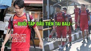 ĐT Việt Nam gặp sự cố trong buổi tập tiên đầu tại Bali: Khó chịu vì CĐV Indonesia
