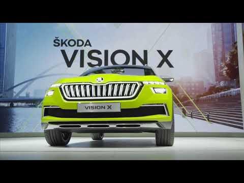 Geneva Motor Show 18: ŠKODA VISION X