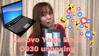 Lenovo YOga Book C930 unboxing (sobrang ganda nya!)