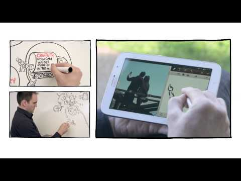 "GALAXY Note 8.0 - ""The Creative Process"" with Illustrator Andrew Park"