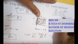 Modern Physics for IIT JEE mains.. Lecture..1  Energy density and its question