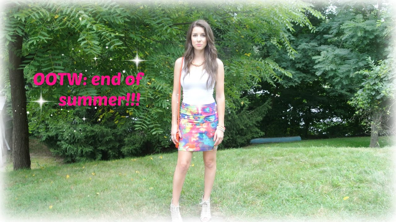 OOTW: end of summer!!!! - YouTube