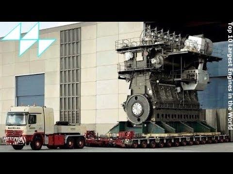 10 อันดับเครื่องยนต์ ที่ใหญ่ที่สุดในโลก / Top 10 Largest Engines in the World
