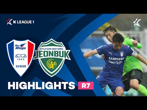 Suwon Bluewings Jeonbuk Goals And Highlights