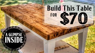 Coffee Table for under $70 | Met Diresta, Bates, Montgomery & Ferry!! // Time with My Hero