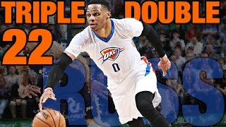 Repeat youtube video Russell Westbrook Triple Double #22 | Game Winning Shot!!! | 01.23.17