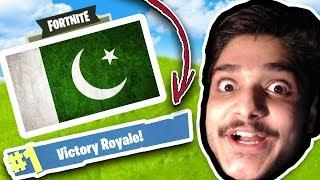 Pakistan's Best Fortnite Player WINS SOLO!