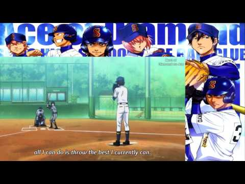 Best of Diamond no Ace #34 - Sawamura's first pitch with new form Part 2