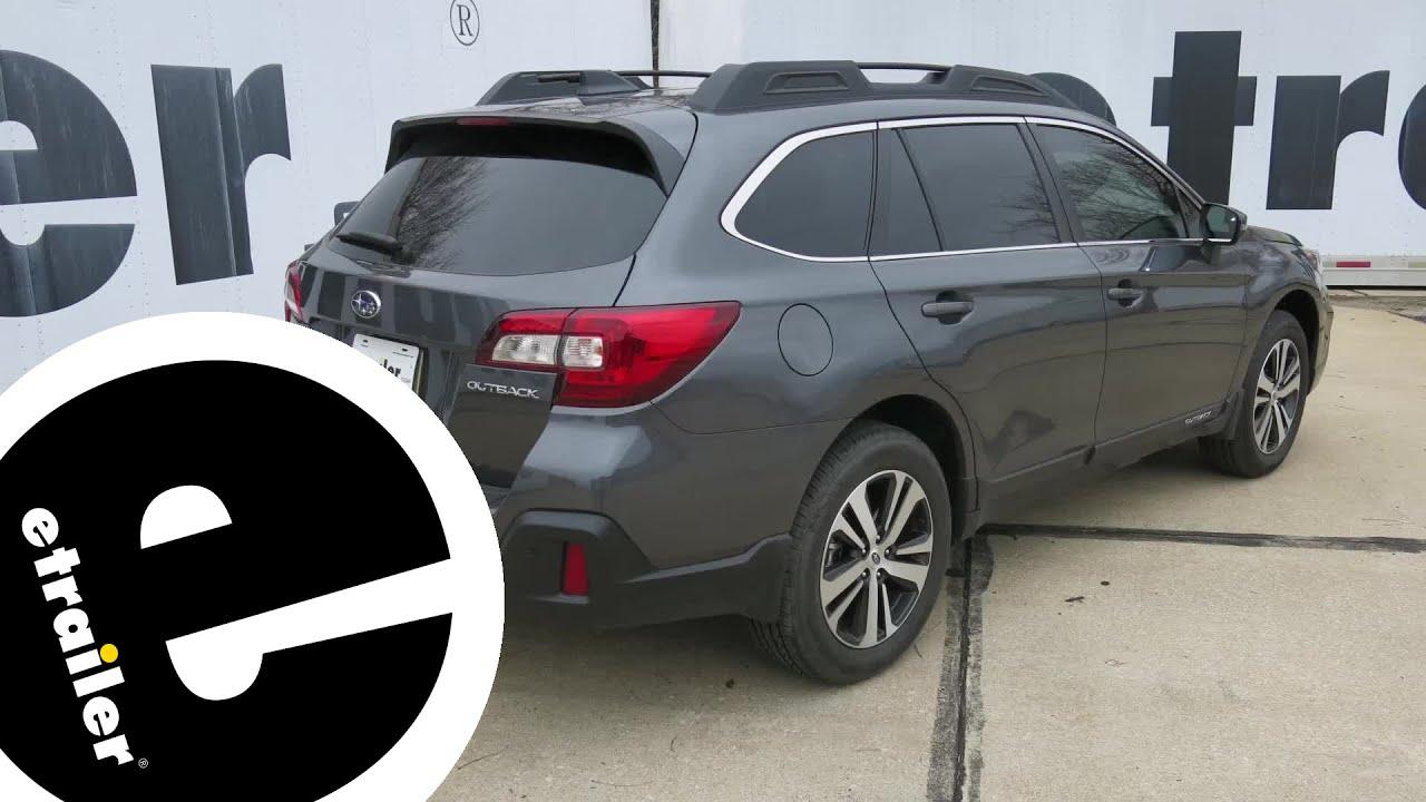 etrailer com Trailer Hitch Installation - 2019 Subaru Outback Wagon -  etrailer com