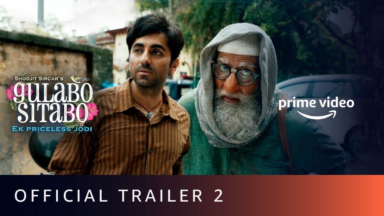 Download Gulabo Sitabo - Official Trailer 2   Amitabh Bachchan, Ayushmann Khurrana   Shoojit, Juhi