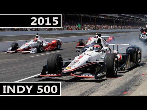 2015 IndyCar Series R6 Indianapolis 500